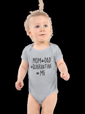 Quarantine onesie