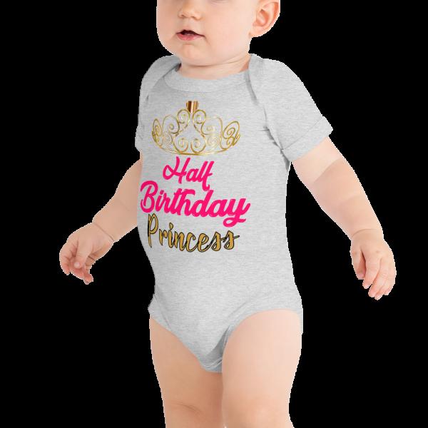 Birthday onesie